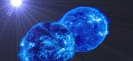 Monster Star Merger : Two giant stars are starting to merge, astronomers say