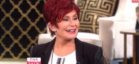 Sharon Osbourne Tooth Talk – Video : Star loses a pearly white LIVE on television filming The Talk