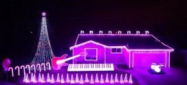 Star Wars Christmas Lights – Video : California Man's 'Star Wars' Christmas Light Display Goes Viral
