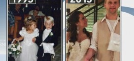 Briggs Fussy and Brittney Husbyn : Flower Girl, Ring Bearer Get Married 20 Years Later