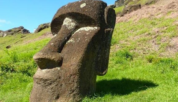 an analysis of the early inhabitants of the easter island