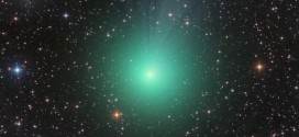 Glowing green Comet Lovejoy to light up sky (Video)