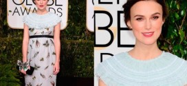 Keira Knightley's Baby Bump Makes Its Golden Globes Debut (Video)