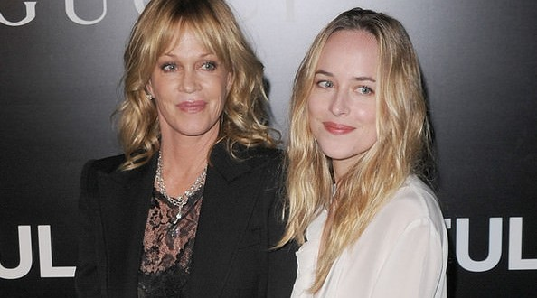 "Dakota Johnson's Mom, Melanie Griffith Will NOT See Daughter in ""Fifty Shades of Grey"""