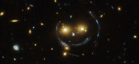 Hubble Telescope Finds Stellar Smiley Face (Photo)
