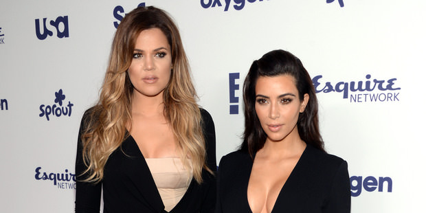 Kardashian Car Crash : Kim, Khloe, Kylie and North West in Road Accident