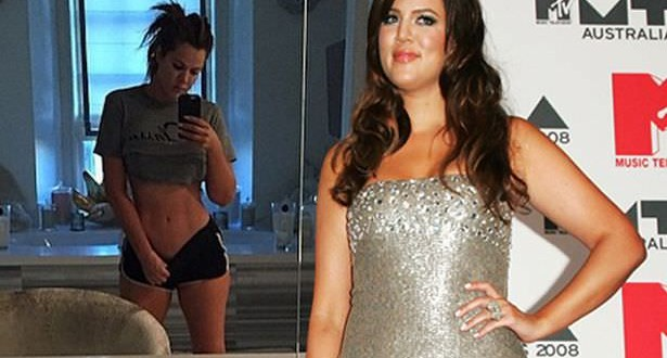 Khloe Kardashian Abs – Photo : Star Shows Off Sexy Figure And 'Baby Abs'