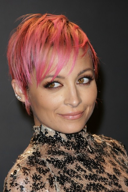 Nicole Richie Haircut Photo Star Debuts Pixie Cut At Tom Ford