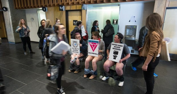 Transgender SFU students demand inclusive washrooms