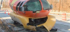 Wienermobile damaged in crash (Video)