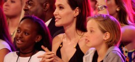 Angelina Jolie makes first public appearance since surgery (Video)