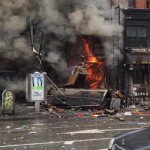 East Village Building Collapses, injuries reported (Live Video)