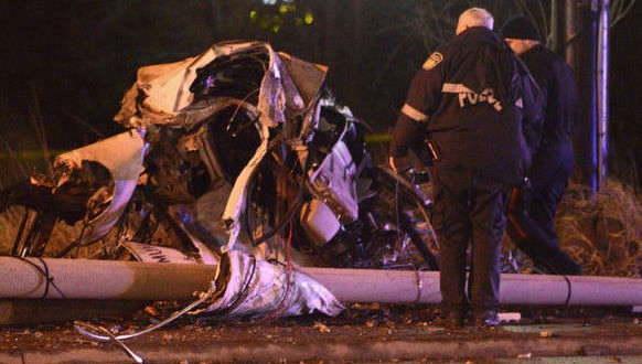 One dead in high-speed Mississauga crash