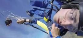 Skydiver survives seizure during jump (Video)