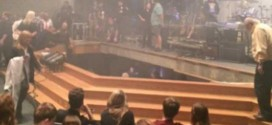 High school stage collapses in Indiana, injuring 12 (Video)