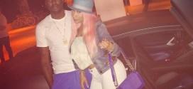 Nicki Minaj Engaged to rapper Meek Mill, Shows Off Huge Ring On Left Hand
