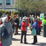 Rally for climate change in Calgary