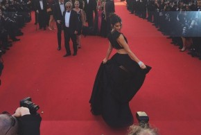 Kendall Jenner's two-piece look : Star Exposes Bare Butt At Cannes (Photo)