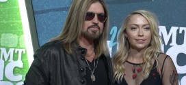 Brandi Cyrus Flaunts Her Figure in See-Through Dress at CMT (Video-Photo)