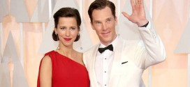 Cumberbatch : Baby boy for 'Sherlock' actor and wife Sophie Hunter