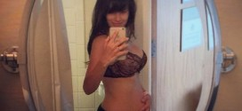 Hilaria Baldwin Posts Selfie In Sexy Lingerie Two Days After Birth  (Photo)
