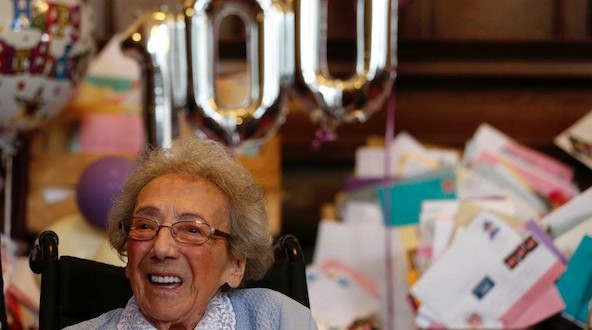 Winnie Blagden : Woman receives 16000 birthday cards on her 100th birthday
