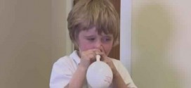 Blowing Balloons With Your Nose Treats Glue Ear, New Study