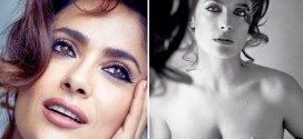 "Salma Hayek Goes Topless for Allure Cover Shoot ""Photo"""