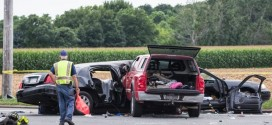 Women Killed In Limo Crash : Four fatalities reported in crash after limo is t-boned in Cutchogue