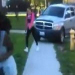 Dad Run Over Teens : Illinois man tries to run over daughter's bullies in his truck (Video)