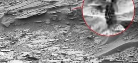 Woman-Shaped Figure Spotted On Mars 'Photo'