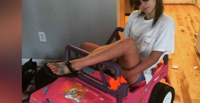 "Tara Monroe uses Barbie Jeep to get around after DWI ""Video"""