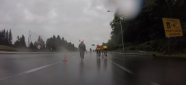 Wind and rain doesn't dampen spirits of Ride to Conquer Cancer participants (Video)