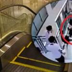 4-year-old boy dies after getting stuck underneath escalator's handrail