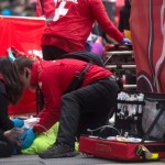 Two runners in critical condition after collapsing at Toronto marathon