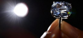 'Blue Moon' diamond fetches record $48.5 Million 'Video'