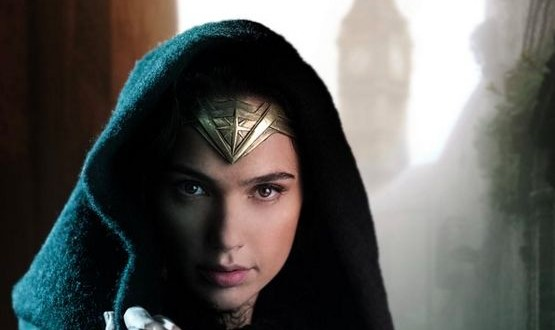 "Gal Gadot posts the first official image from Wonder Woman set ""Photo"""