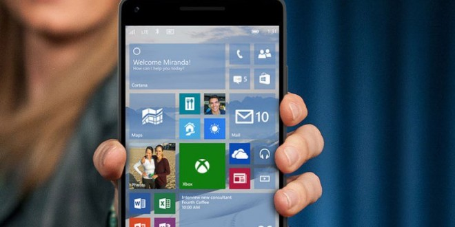 Windows 10 Mobile Preview Build 10586 Available Now, Report
