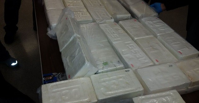 136 Pounds Of Cocaine Shipment from Boston Seized (Report)