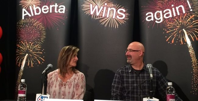Alberta couple win $14.5 million in Lotto 6/49