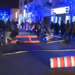 Police arrest anti-capitalist protesters downtown (Video)
