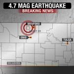 Seven earthquakes shake Oklahoma Monday morning