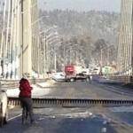 Travel alert: Bridge on Trans-Canada highway splits amid cold weather