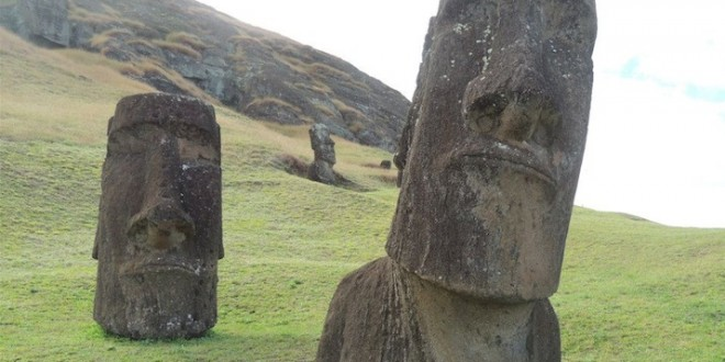 Easter Island not destroyed by warfare, says new study