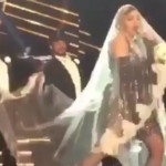 Madonna's embarrassing wardrobe malfunction (Video)
