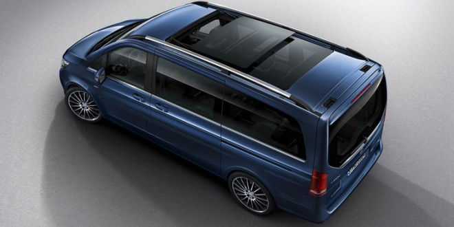 New design and equipment line for the Mercedes-Benz V-Class (Photo)