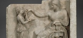 That ancient Greek statue does not have a laptop 'Report'