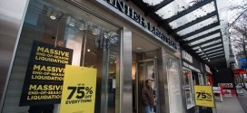 Danier Leather starts store closing sales, Report