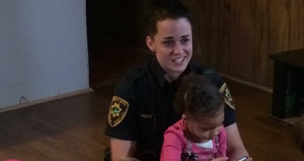 "Deputy Martha Lohnes Responds: Two Year Old Calls 911 for Help Getting Dressed ""Video"""