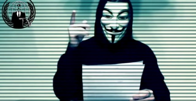 "Hacker group Anonymous calls for 'total war' on Donald Trump ""Video"""